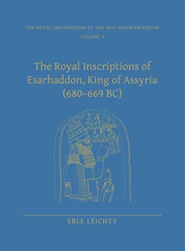 Royal Inscriptions of Esarhaddon