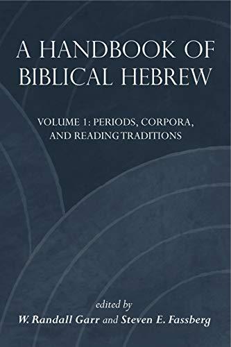 Handbook of Biblical Hebrew 2 vols.