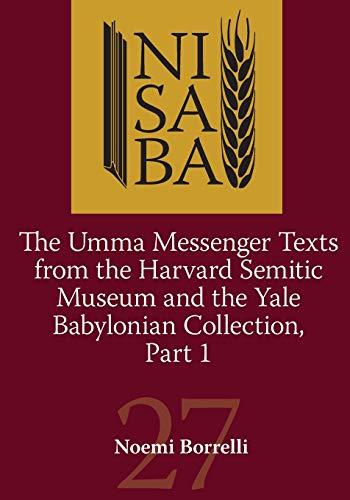 Umma Messenger Texts part 1 Nisaba 27
