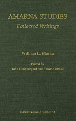 Amarna Studies HSS54 Collected Writings