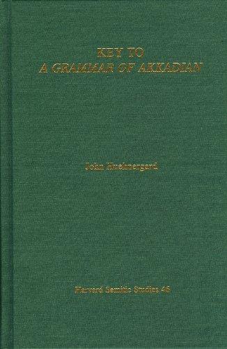 9781575069241: Key to a Grammar of Akkadian (Harvard Semitic studies)