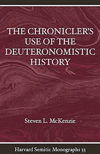 Chronicler's Use of the Deuteron HSM33