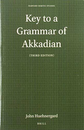 9781575069449: Key to Akkadian Grammar