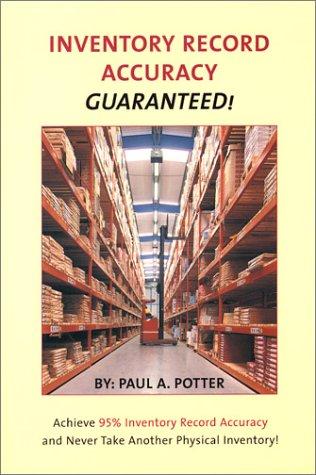 9781575120058: Inventory Record Accuracy: GUARANTEED!