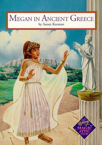 9781575131276: Megan In Ancient Greece Pb (Magic Attic Club)