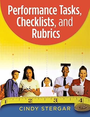 9781575178578: Performance Tasks, Checklists, and Rubrics