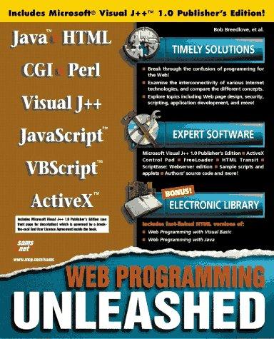 Web Programming Unleashed with CDROM: Sams Publishing, Robert