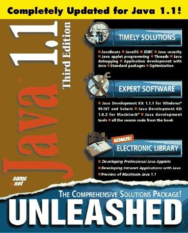 9781575212982: Java 1.1 Unleashed