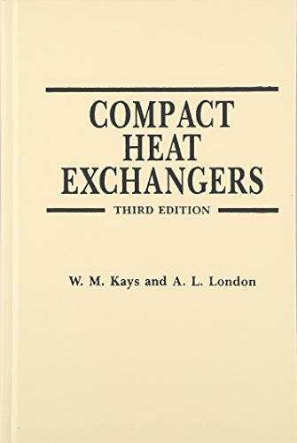 Compact Heat Exchangers: W. M. Kays,