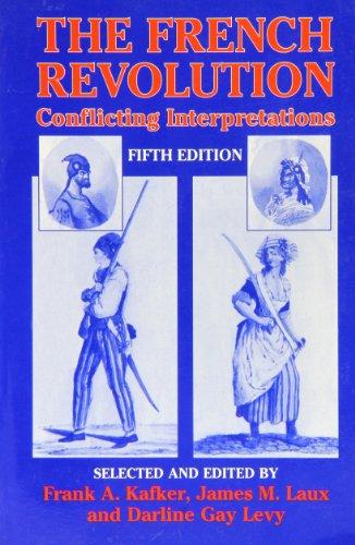 9781575240923: The French Revolution: Conflicting Interpretations