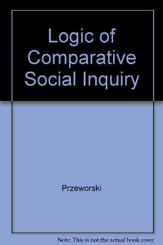 9781575241517: Logic of Comparative Social Inquiry