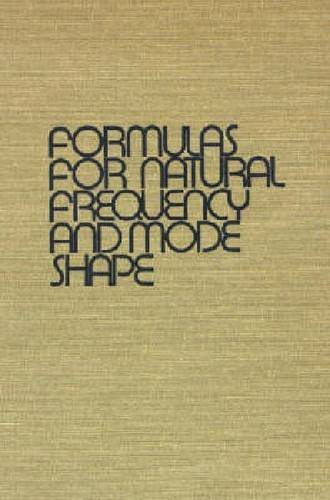 9781575241845: Formulas for Natural Frequency and Mode Shape