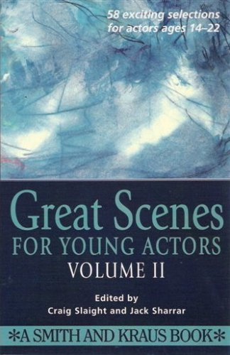 9781575251073: Great Scenes for Young Actors (Young Actor Series,) v-2