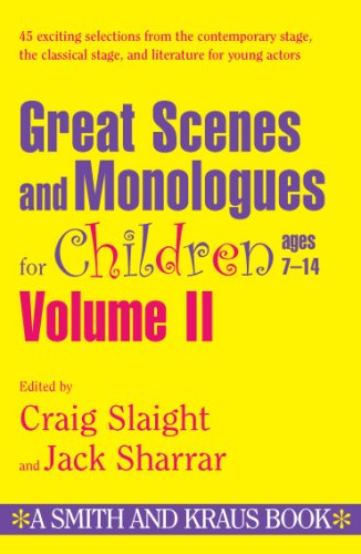 9781575252247: Great Scenes and Monologues for Children Ages 7-14 (Young Actors Series) Vol. II (English and Spanish Edition)
