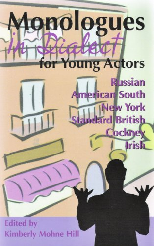 9781575252506: Monologues in Dialect for Young Actors (Young Actor Series,)