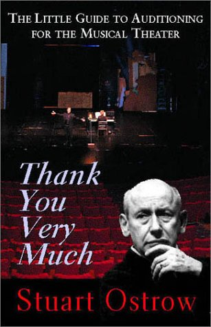 9781575253015: Thank You Very Much: The Little Guide to Auditioning for the Musical Theater