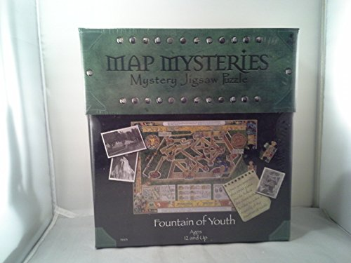 The Fountain of Youth: Map Mysteries Mystery Jigsaw Puzzle
