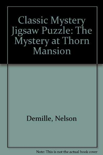 9781575287539: Classic Mystery Jigsaw Puzzle: The Mystery at Thorn Mansion