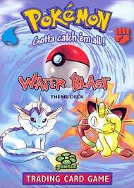 9781575308227: Pokemon: Water Blast Theme Deck