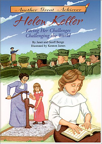 9781575371078: Another Great Achiever: Helen Keller Facing Her Challenges/Challenging the World