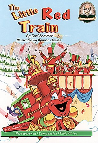9781575375144: The Little Red Train with CD (Audio) (Another Sommer-Time Story)