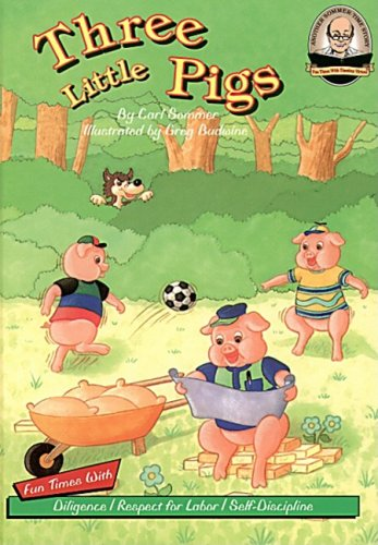 Another Sommer-Time Story: Three Little Pigs with CD Read-Along: Sommer, Carl