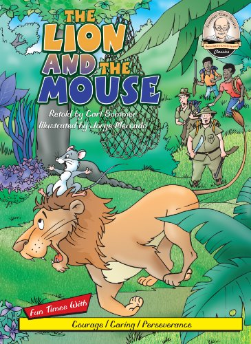 The Lion and the Mouse (with CD Read Along) (Sommer-Time Stories: Classics): Carl Sommer