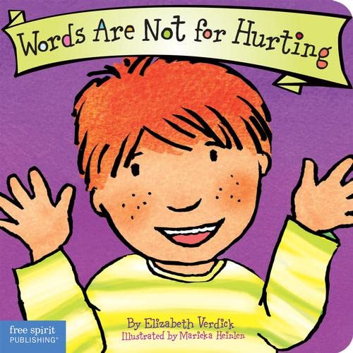 9781575421551: Words are Not for Hurting: Board Book (Parenting Board Books)