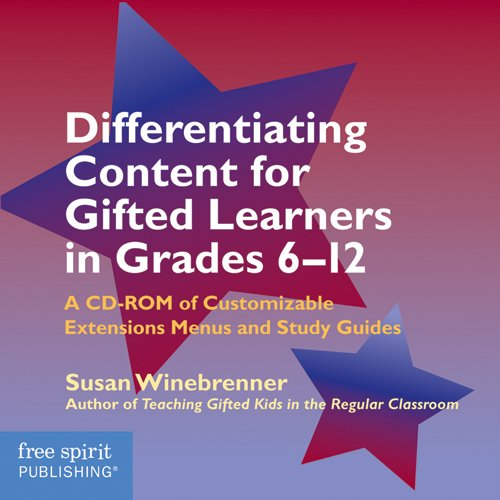 9781575421889: Differentiating Content for Gifted Learners in Grades 6-12