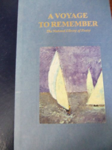 A Voyage to Remember The National Library of Poetry