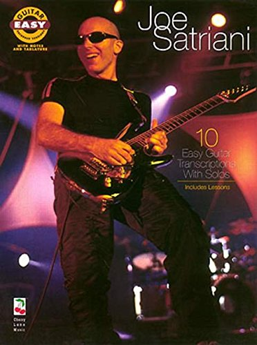 9781575600536: Joe Satriani - Easy Guitar Recorded Versions*