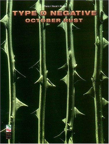 9781575600550: October Rust Type O Negative