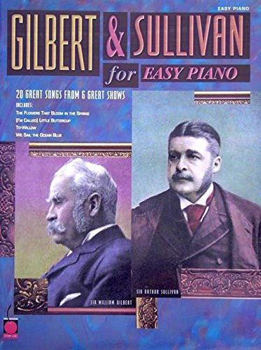 9781575603513: Gilbert and Sullivan for Easy Piano (Easy Piano (Hal Leonard))
