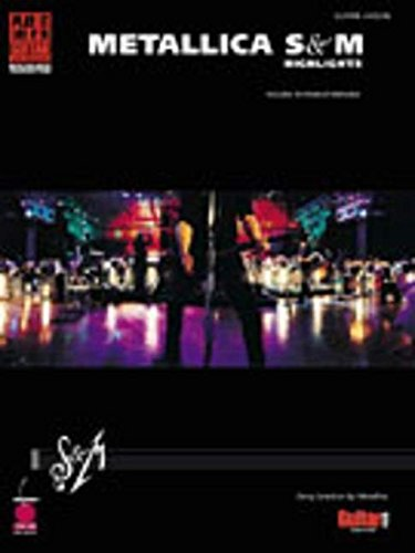 9781575603698: METALLICA S&M HIGHLIGHTS (Play It Like It Is Guitar)