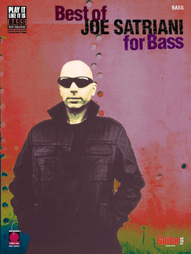 9781575605579: Best of Joe Satriani for Bass