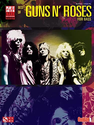 9781575605616: Best of Guns N' Roses for Bass: Bass Tab/Vocal (Play it Like it is)