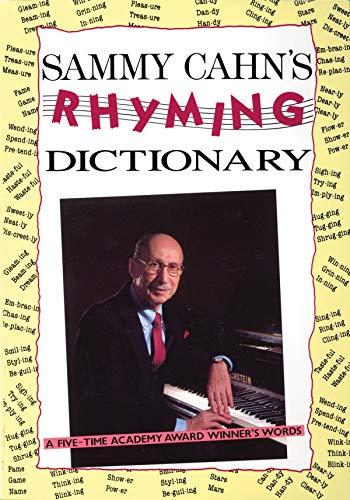 9781575606224: Sammy Cahn's Rhyming Dictionary