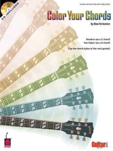 9781575606330: Color Your Chords: Cop the Chord Styles of the Rock Greats! (Book & CD)