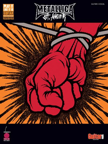 9781575606828: Metallica - st. anger guitare