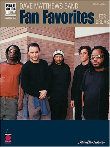 9781575606873: Dave Matthews Band - Fan Favorites for Drums (Play It Like It Is Drums)