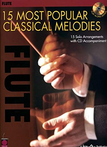 9781575607634: 15 Most Popular Classical Melodies: Flute