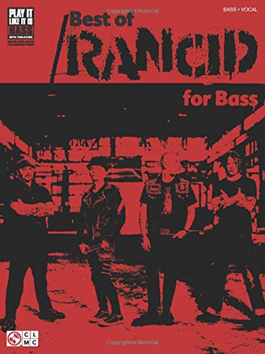 9781575607924: Best of rancid for bass guitare basse (Play It Like It Is Bass)