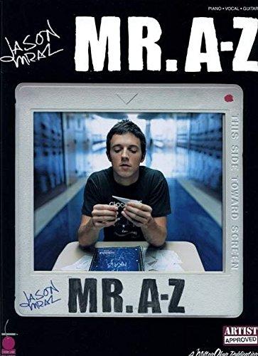 9781575608556: Jason Mraz - Mr. A-Z: Piano, Vocal, Guitar