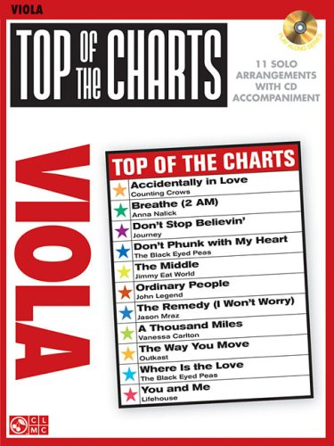 Top of the Charts: Viola: Hal Leonard Corp.