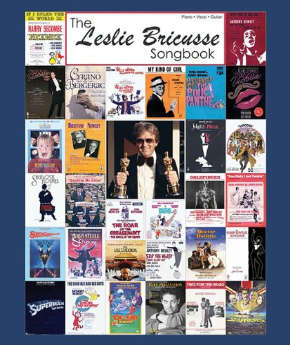THE LESLIE BRICUSSE SONGBOOK - HARDCOVER