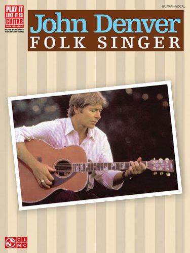 9781575609423: John Denver Folk Singer (Play It Like It Is)
