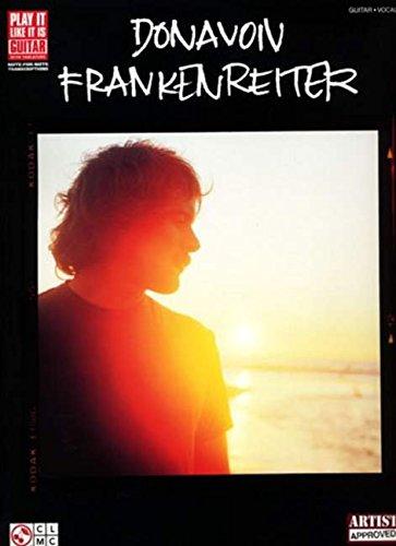 9781575609485: DONAVON FRANKENREITER GUITAR VOCAL (Play It Like It Is: Guitar)