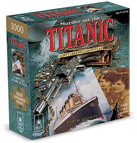 9781575610498: Murder on the Titanic: A Classic Mystery Jigsaw Puzzle
