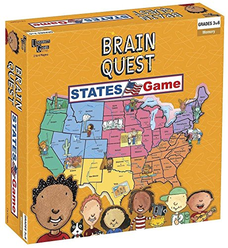 9781575616872: Brain Quest - States Game