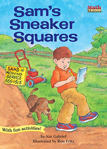 Sam's Sneaker Squares, Math Matters area, Grades: Gabriel, Nat, Fritz,